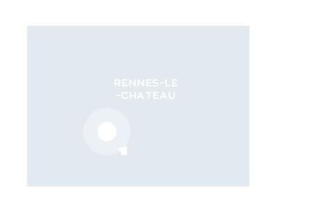 Carte de localisation de Rennes-le-Château dans l'Aude