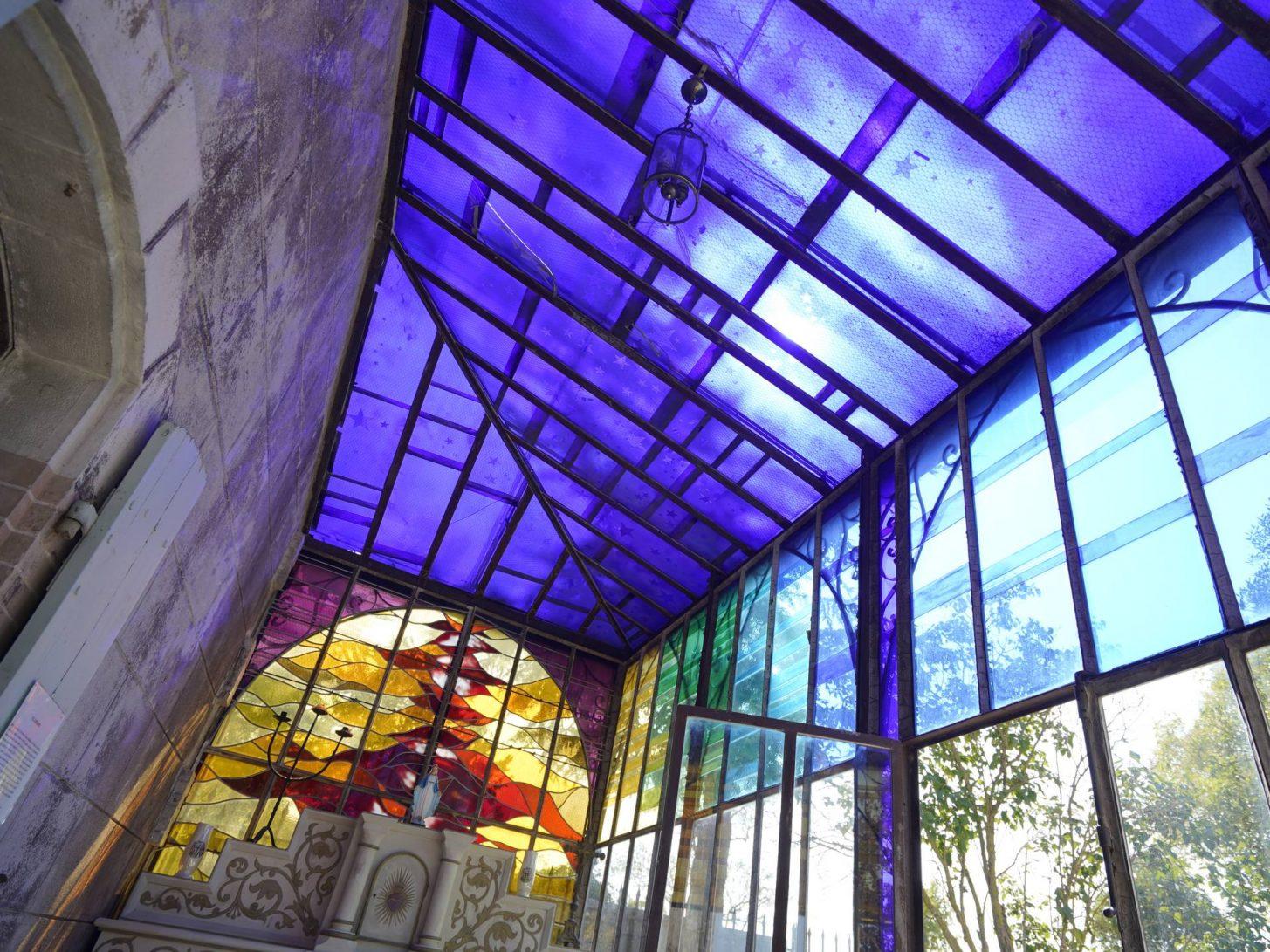 Chapelle privée de l'abbé Saunière à Rennes le Château © Raphaël Kann