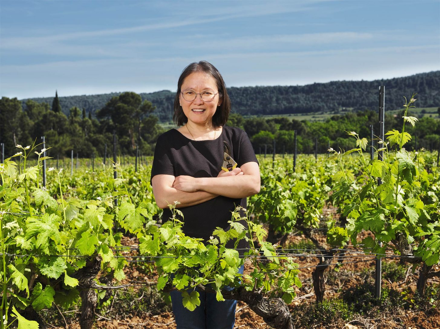 Producteurs de vins dans son domaine viticole audois ©Benoit Guerry - Studio ZE - ADT de l'Aude