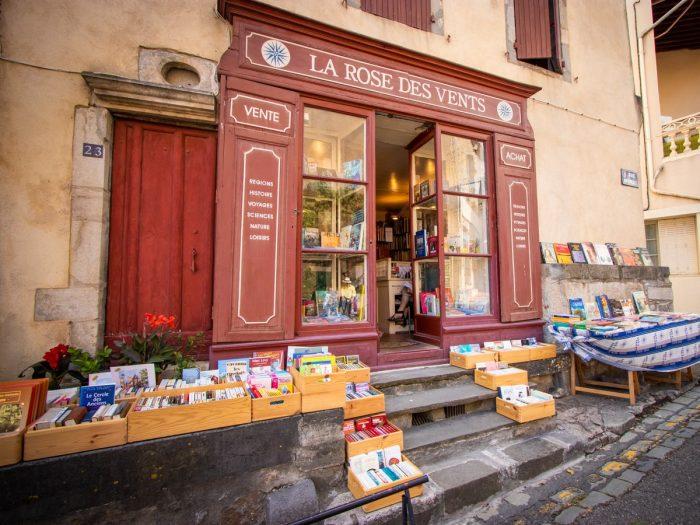 Librairie à Montolieu, village du livre © Céline Deschamps, ADT de l'Aude