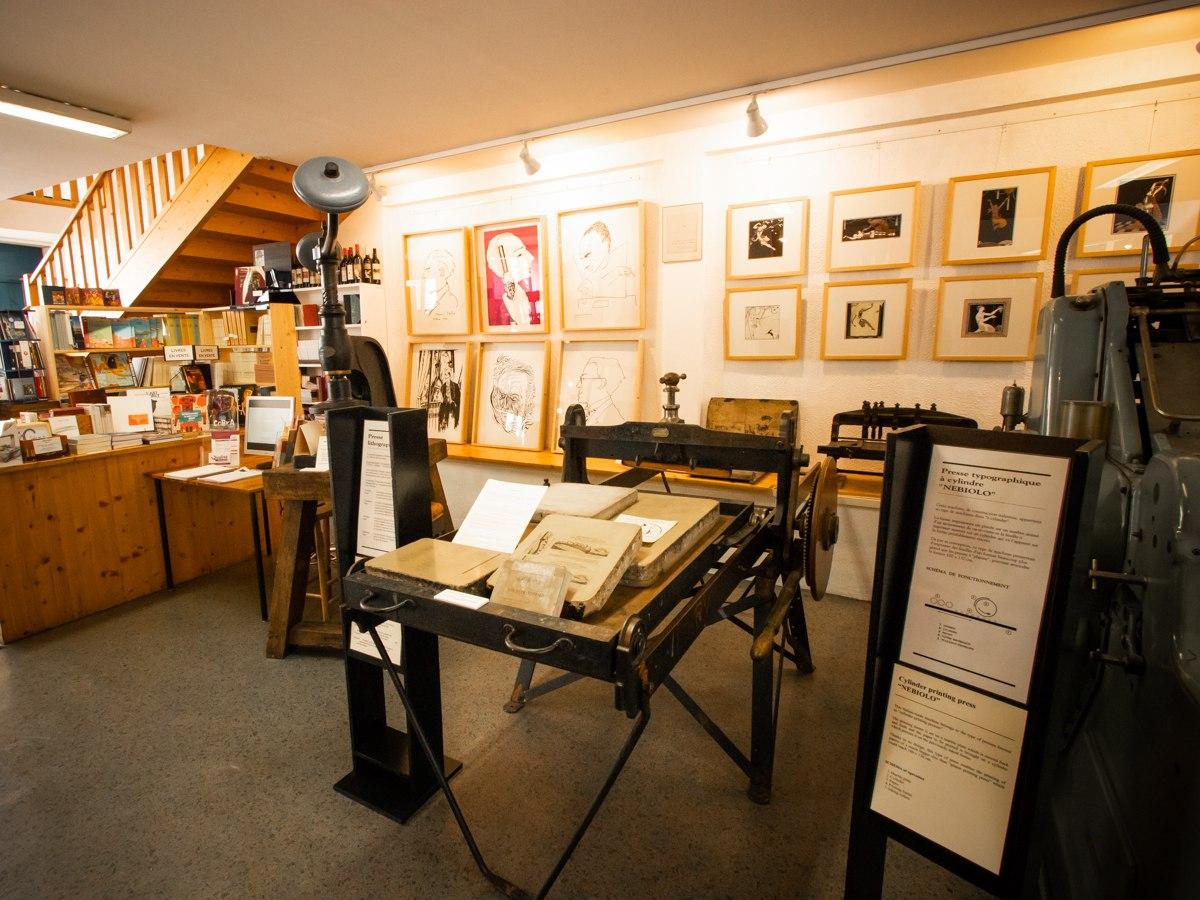 Musée du livre à Montolieu © Céline Deschamps, ADT de l'Aude