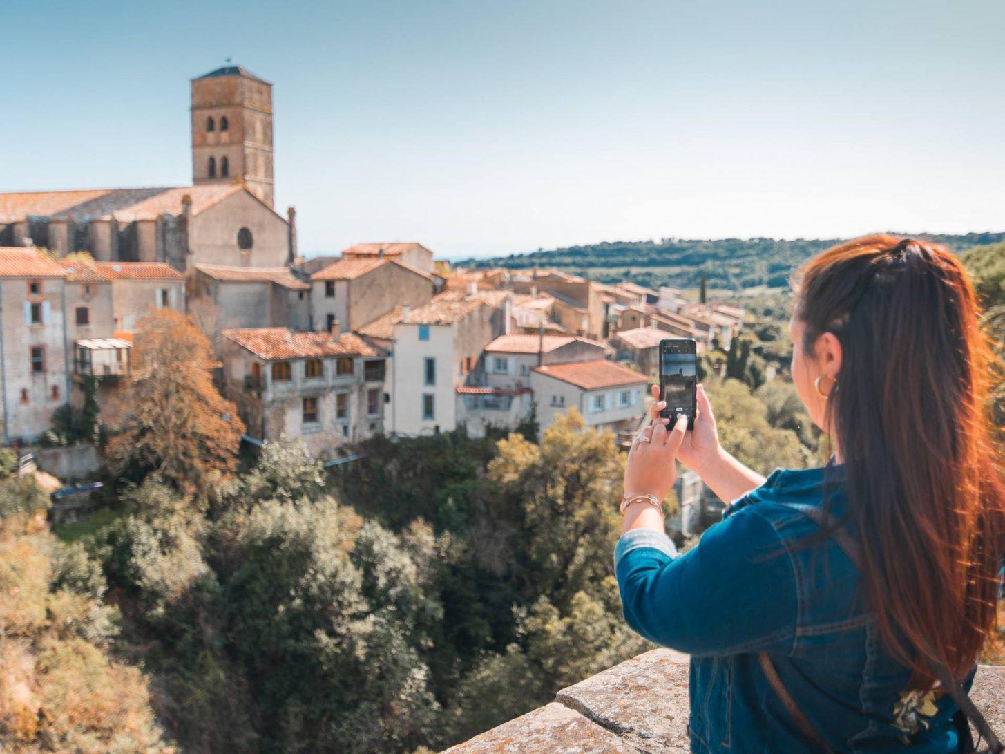Séance photo à Montolieu, village du livre © Vincent Photographie, OT Grand Carcassonne