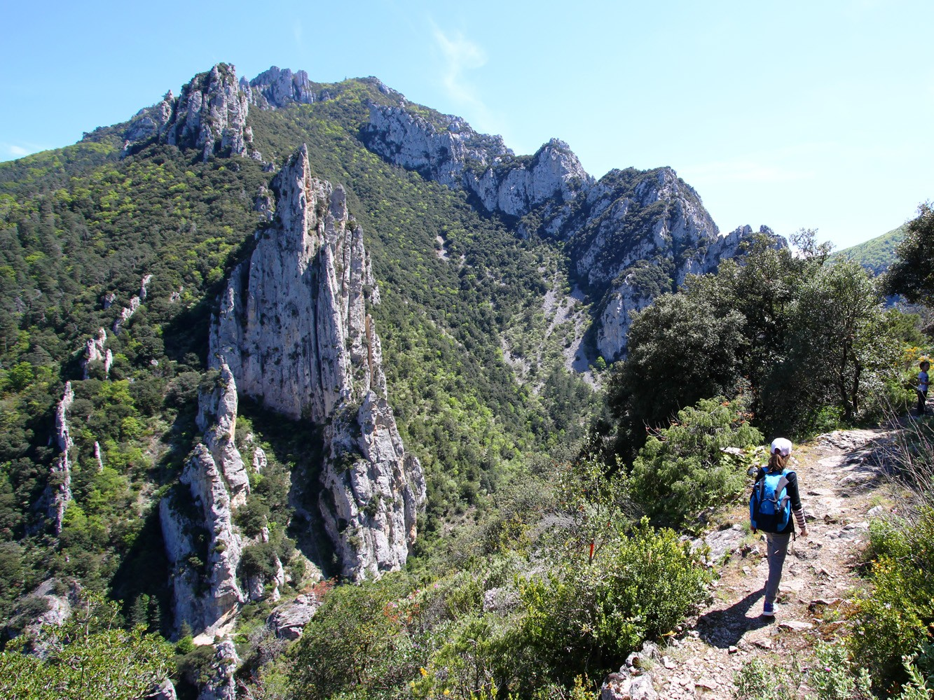 La randonnée du belvédère du diable, dans les gorges de la Pierre Lys© S. Dossin, OT Pyrénées audoises