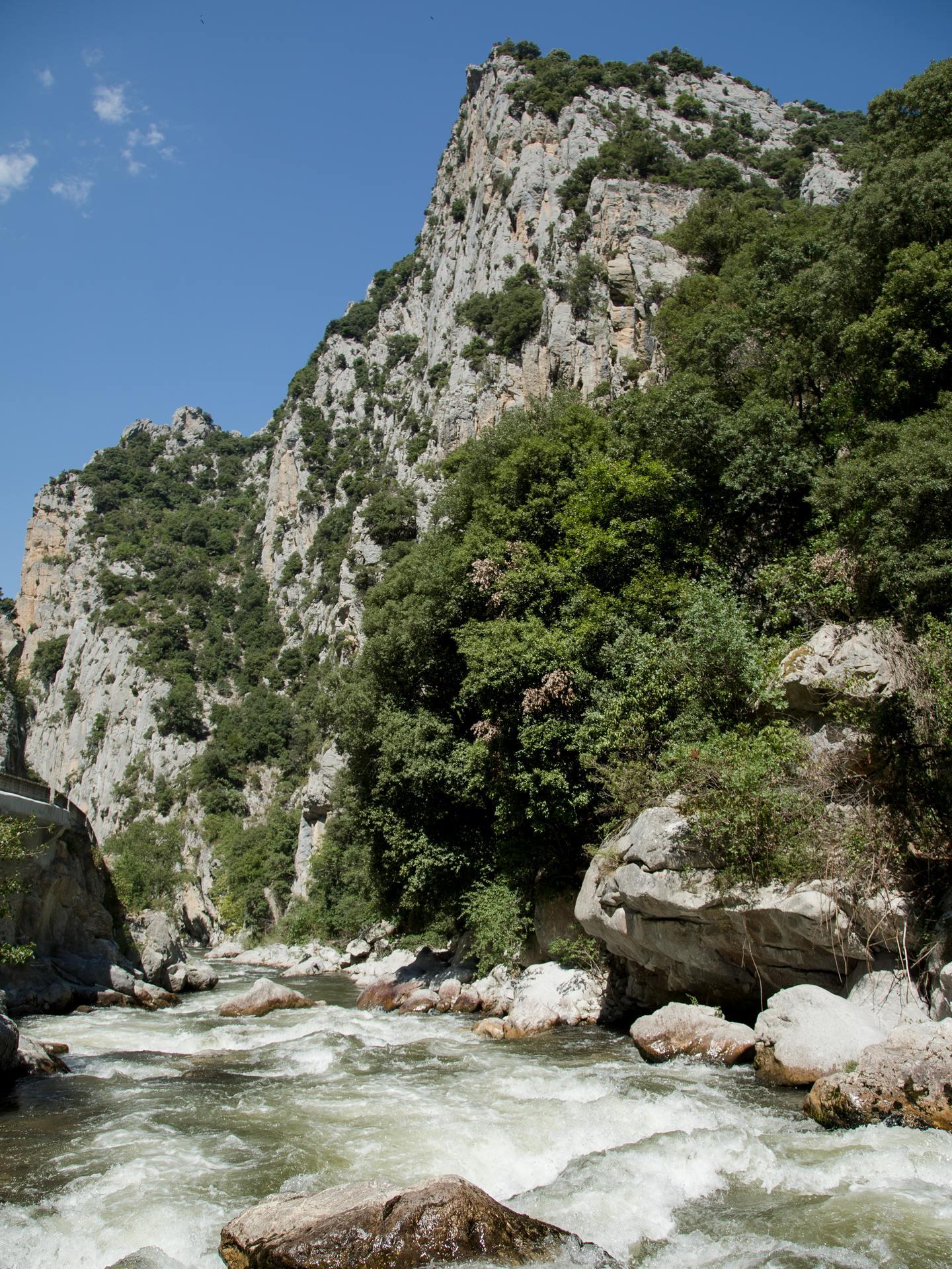 Gorges de la Haute vallée de l'Aude © Raphael Kann, ADT de l'Aude