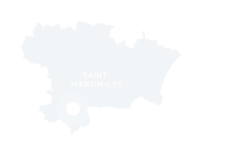 Carte de localisation de Saint-Martin-Lys