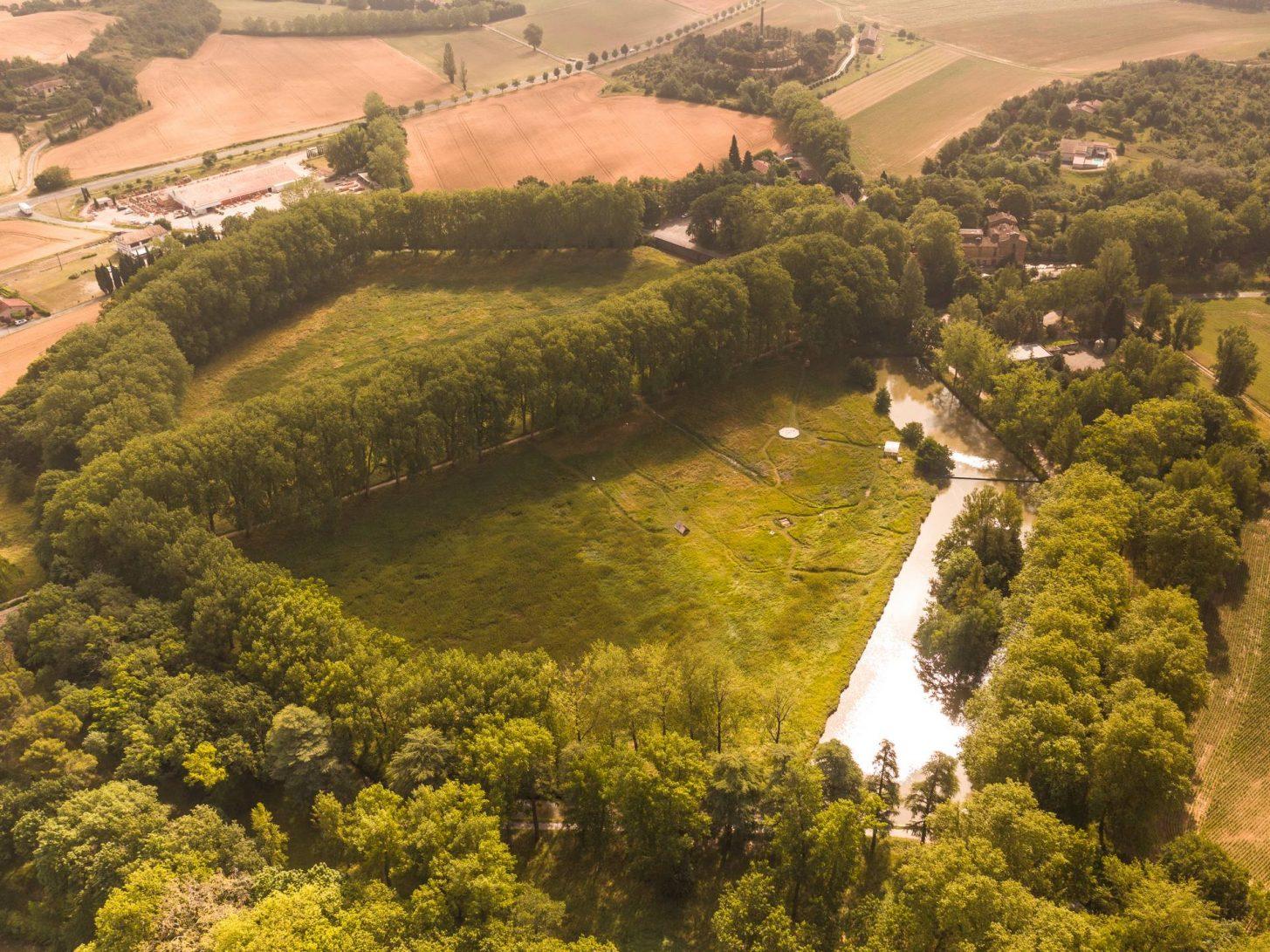 Montferrand, Seuil de Nauzouze, lieu emblématique du canal du Midi © Vincent Photographie, ADT de l'Aude