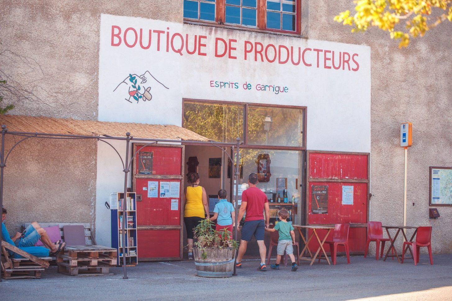 Boutique de produits de terroir © Vincent Photographie, PTCM