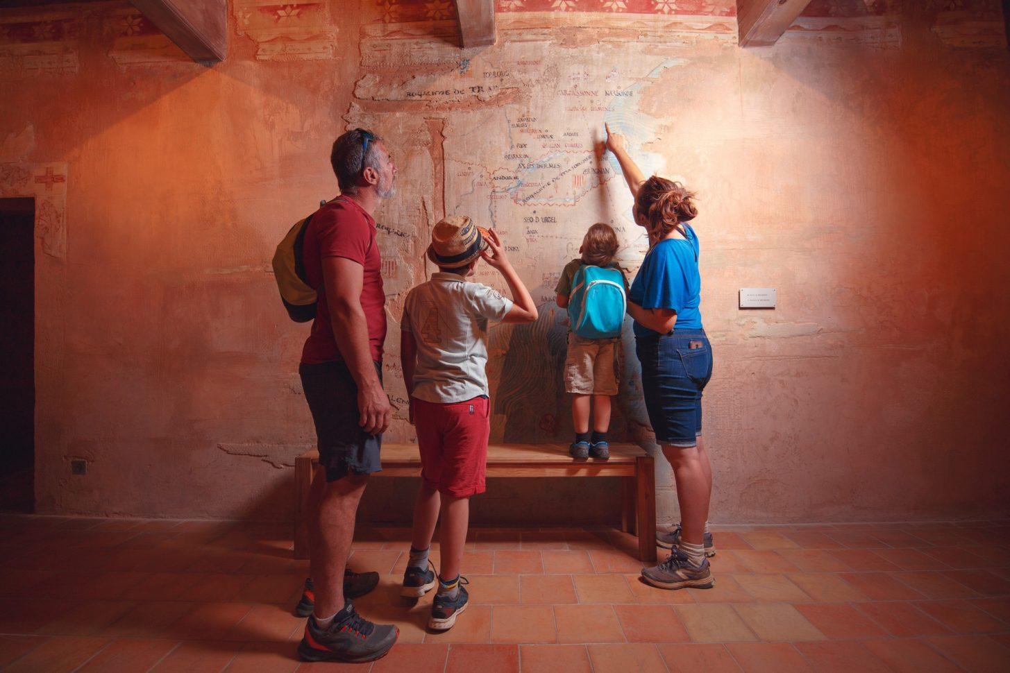 Visite du Château de Villerouge Terménes © Vincent Photographie, PTCM