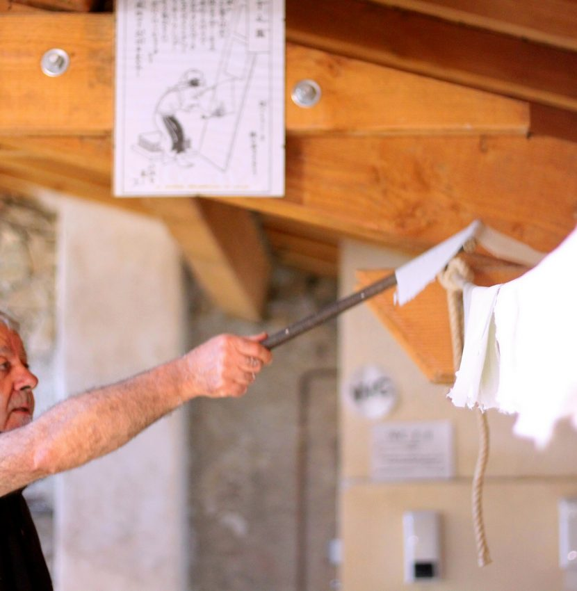 Visite du Moulin à Papier de Brousses et Villaret ©Clida