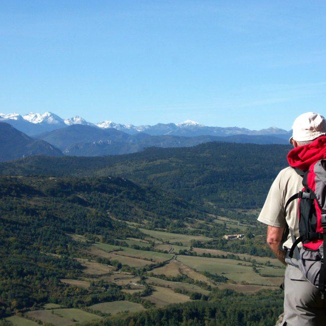 18-bugarach-2018-00-pech-paysage-randonneur-foret-cr-s-dossin-ot-pyrenees-audoises