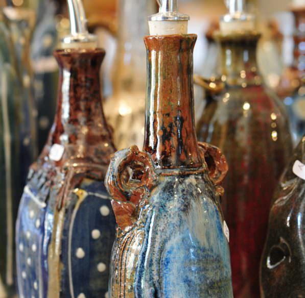 céramique huilier, création marque Pays Cathare