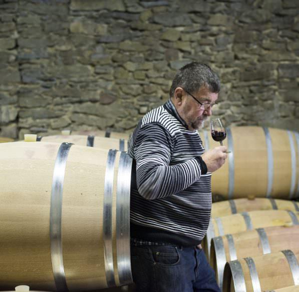 Domaine bertrou parazols, dégustation de vin