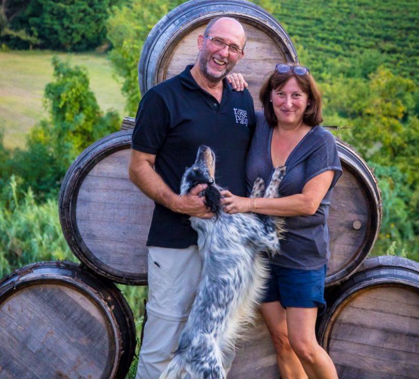 Au Domaine Rose et Paul, un couple de vignerons vous accueille © OT Grand Carcassonne