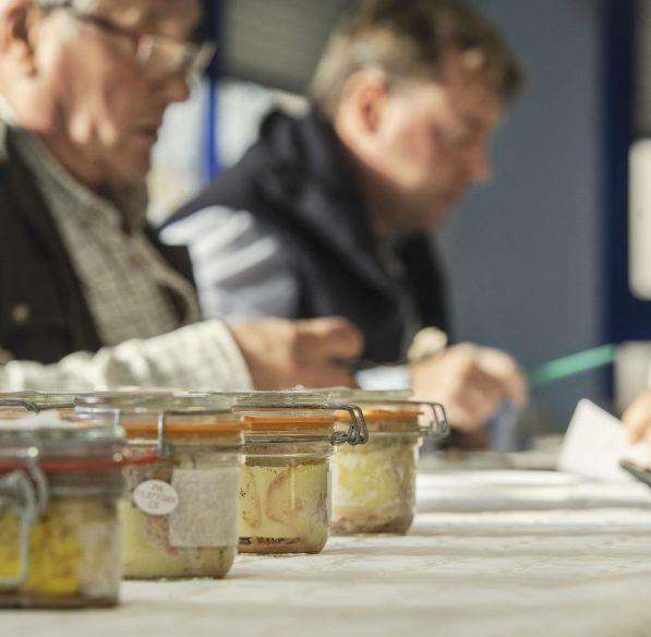 Foire au gras à Belpech, concours de foie gras
