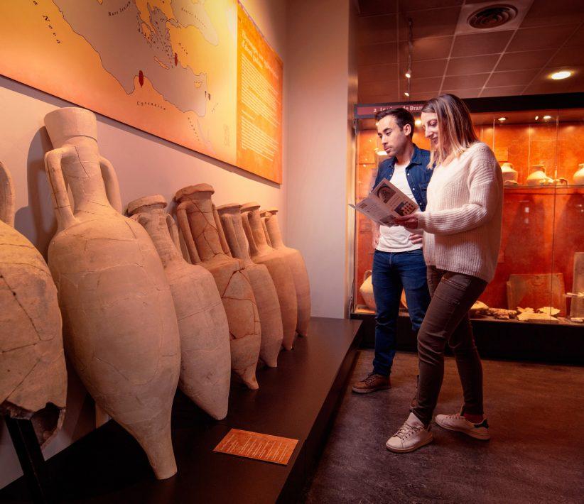 Visite du musée Eburomagus à Bram ©Vincent Photographie-ADT de l'Aude