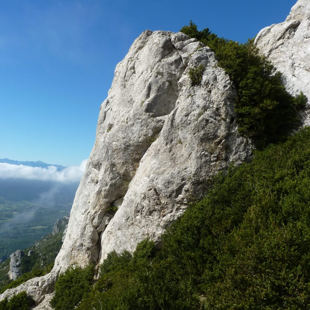 Randonnée en direction du Pech de Bugarach ©D.Cosperec-Villemarcheurs