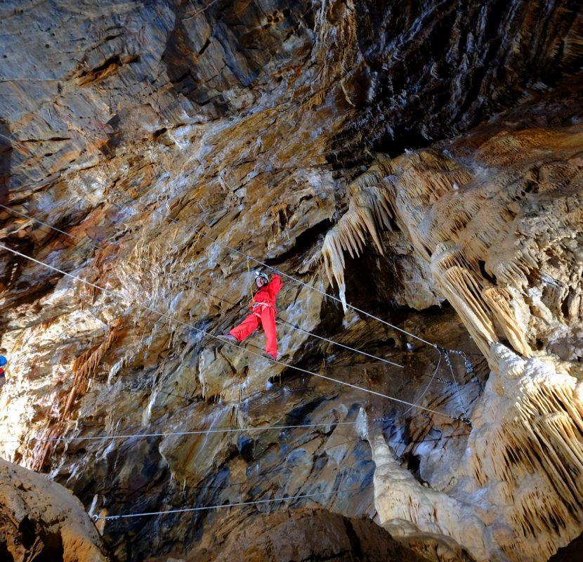 Rando souterraine au gouffre de Cabrespine ©M.Randa-ADT-Aude