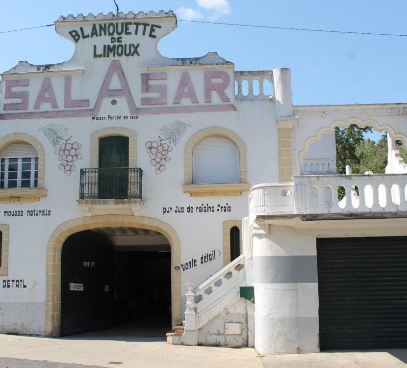 La Maison Salasar à Campagne sur Aude, une institution pour la Blanquette de Limoux © Maison Salasar