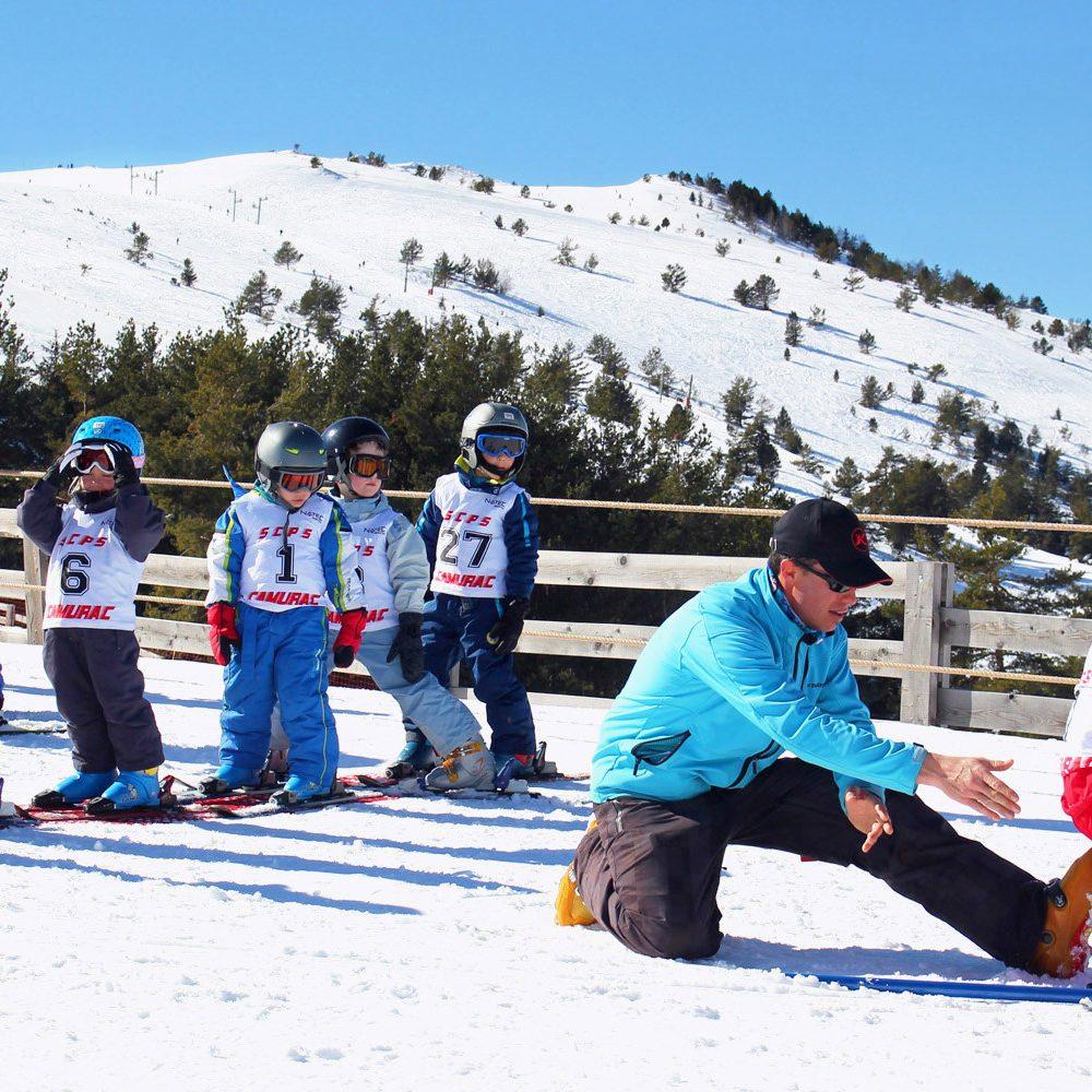 Camurac, école de ski
