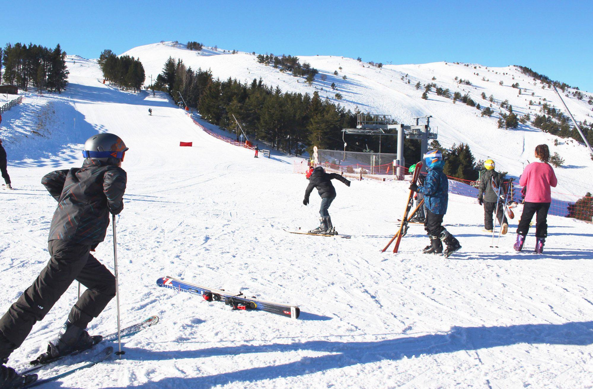 Camurac, ski