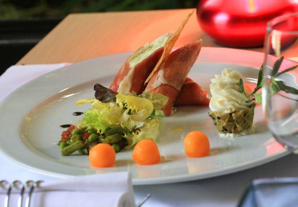 Restaurant Le Comte Roger, Carcassonne, Crédit ADT de l'Aude