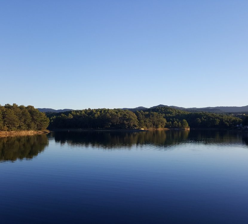 le lac de la Cavayère à Carcassonne