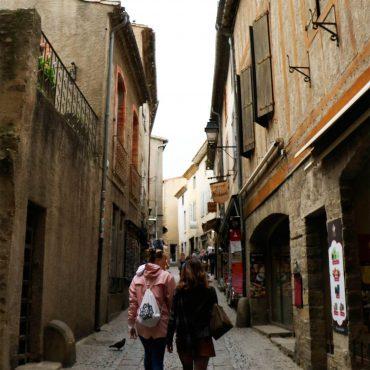 Les commerces de la Cité de Carcassonne ©ADT de l'Aude
