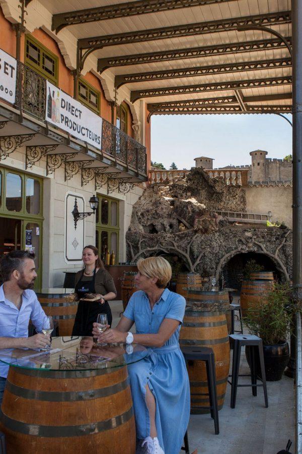 Le Comptoir de la Cité à Carcassonne ©Philippe Benoist - ADT de l'Aude