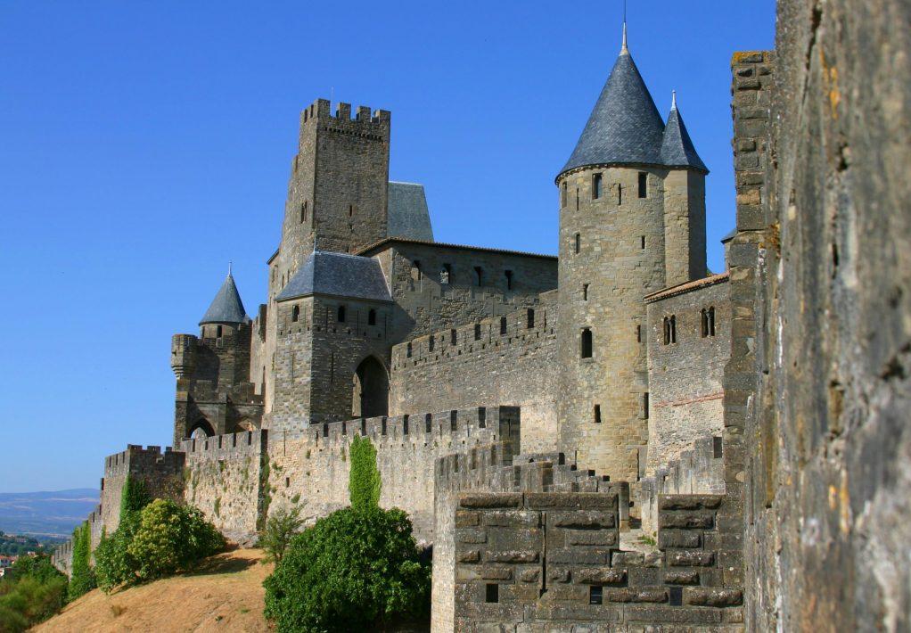 carcassonne, cité, remparts