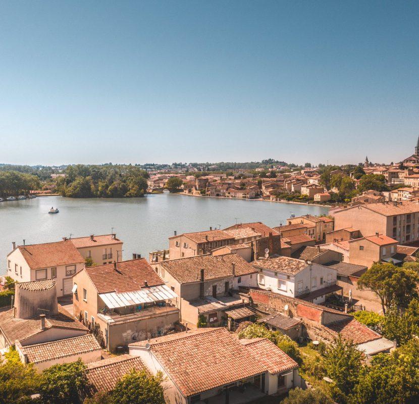 Castelnaudary, le grand bassin