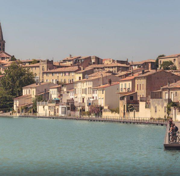 Grand bassin de Castelnaudary ©Vincent Photographie-ADT de l'Aude
