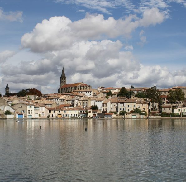 Grand bassin de Castelnaudary ©Office de Tourisme de Castelnaudary