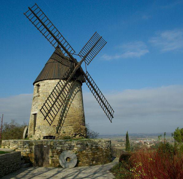 castelnaudary, moulin de cugarel