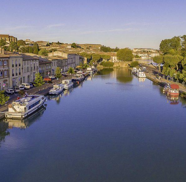 Port de Castelnaudary ©Office de Tourisme de Castelnaudary