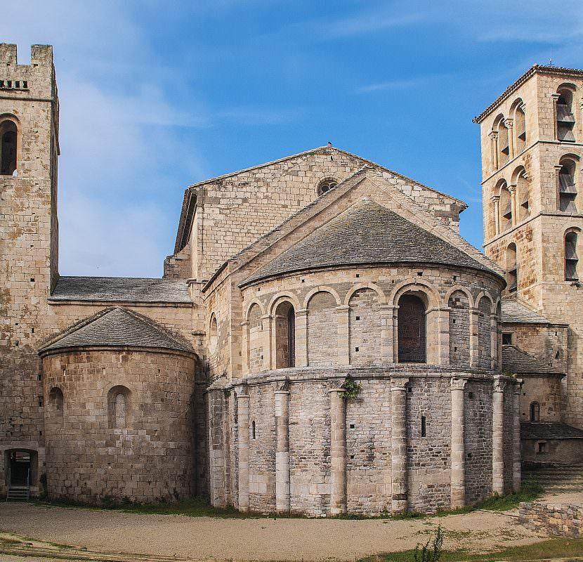 Caunes-Minervois, abbaye