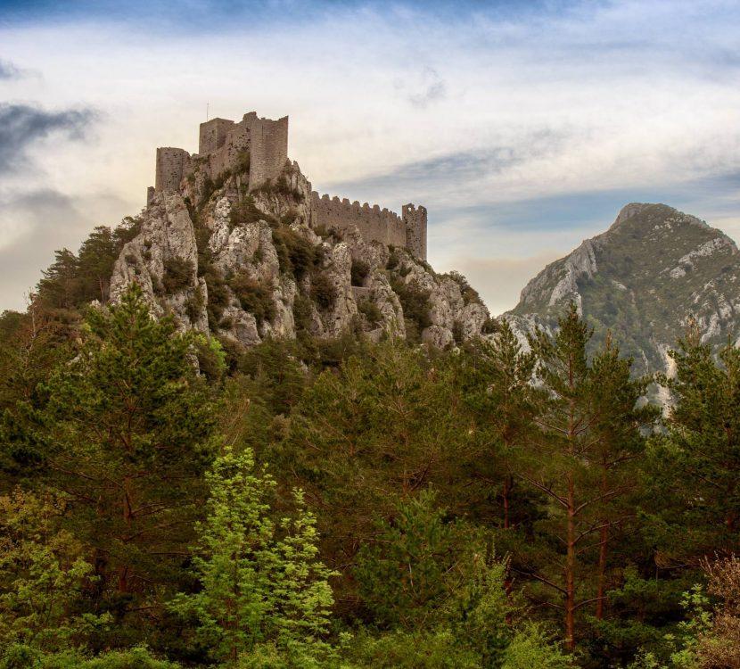Château de Puilaurens à Lapradelle ©Vincent Photographie