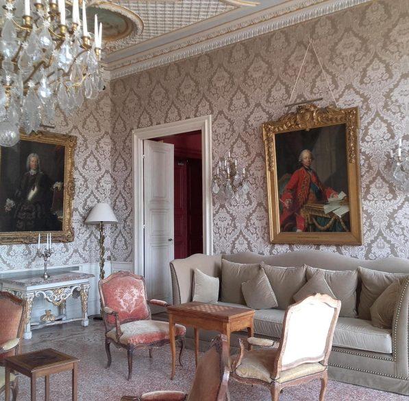 Visites des salles du Chateau de Pennautier ©Lorgeril