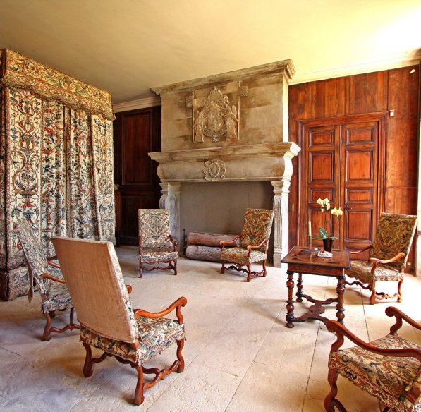 chateau de Pennautier Lorgeril, visite