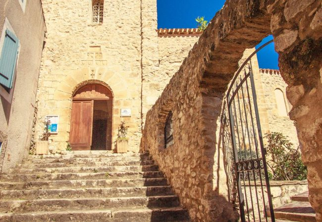 Église du village de Duilhac-sous-Peyrepertuse ©Vincent Photographie