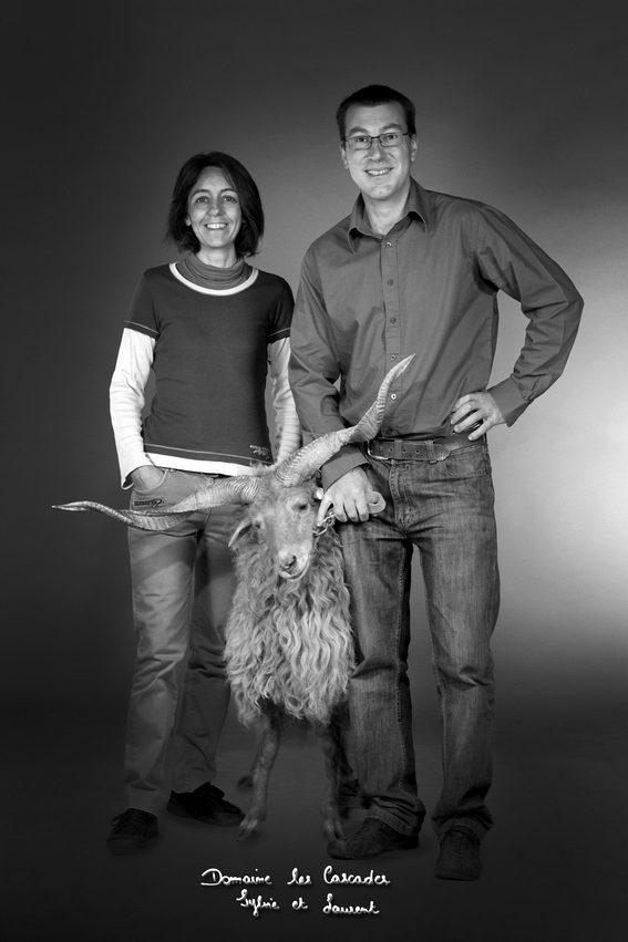 Sylvie et Laurent du Domaine des Cascades