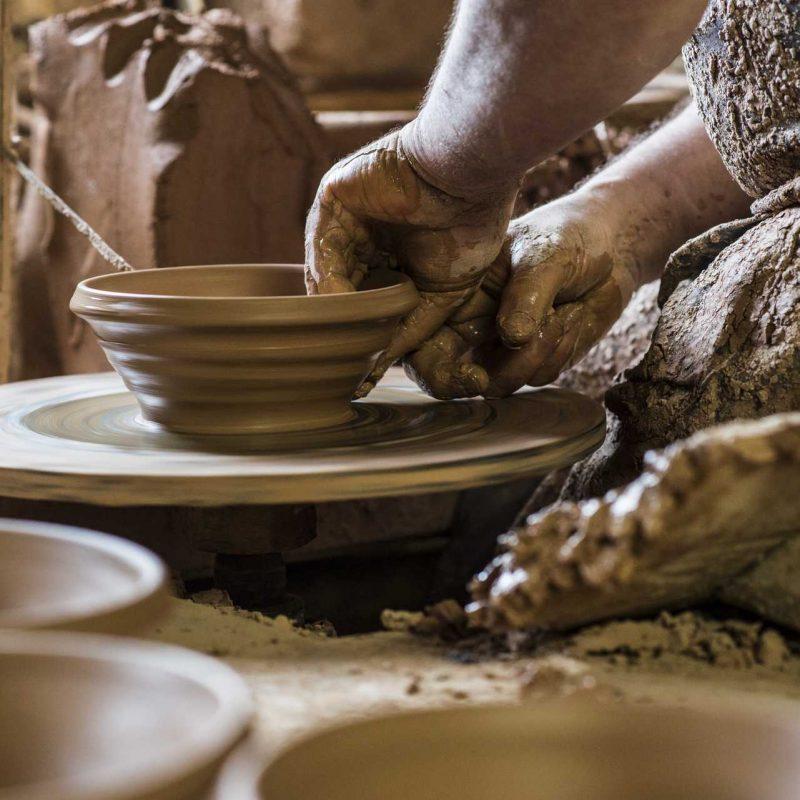 Fabrication de la Cassole à la Poterie Not, Mas Sainte-Puelle ©Ludovic Charles-ADT de l'Aude