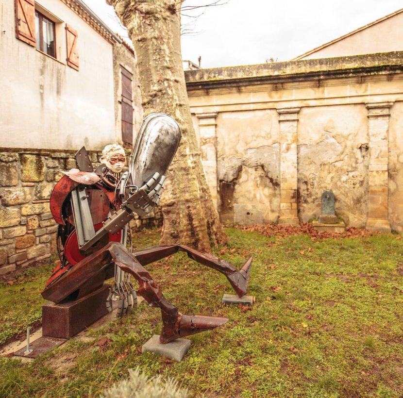 Fanjeaux et son parcours sculpturel ©Vincent Photographie