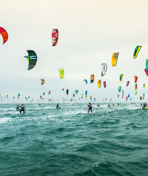 compétition Défi Kite à Gruissan©Jean Marc Cornu, OT Gruissan
