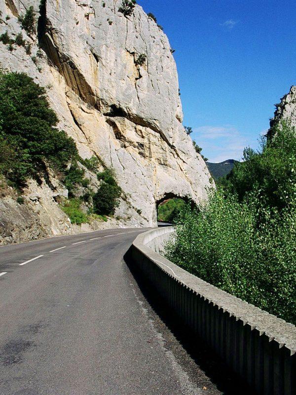 Gorges de la Haute vallée de l'Aude, défilé de la Pierre Lys © Phovoir, ADT de l'Aude