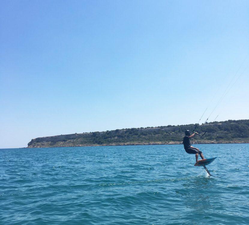 Leucate, kite surf - ot leucate