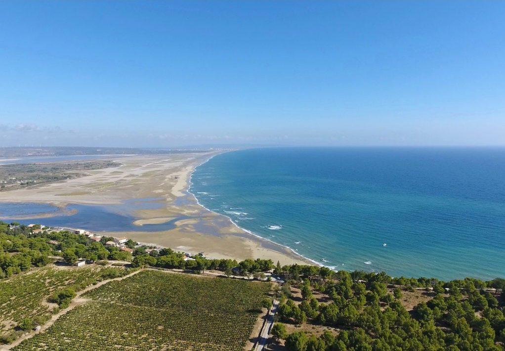Leucate, vue sur la mer ©G Fleury-Office de Tourisme de Leucate