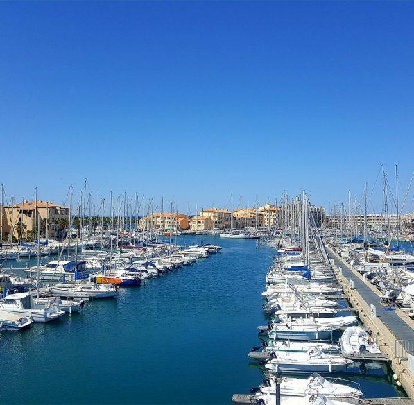 Leucate et son port ©ADT de l'Aude