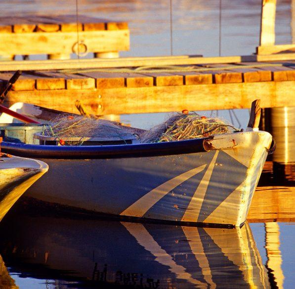 Leucate, barque
