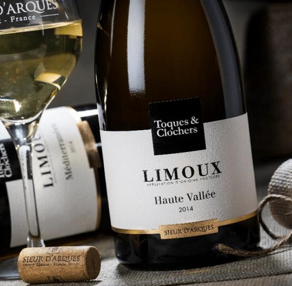 bouteilles de Limoux - Toques et clochers ot limouxin