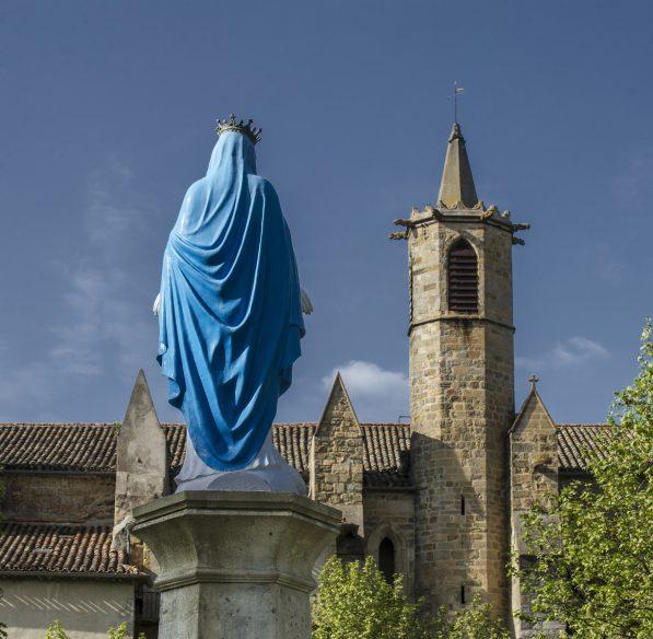 Limoux, Notre Dame de Marceille, vierge